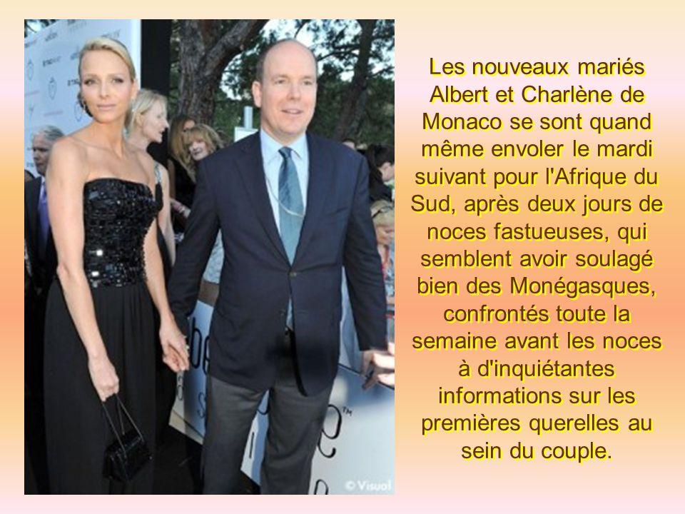 Lorsqu'Albert II a appuyé sur l'interrupteur, Monaco et son Rocher se sont illuminés comme jamais ils ne l'ont été, même au plus fort du concours inte