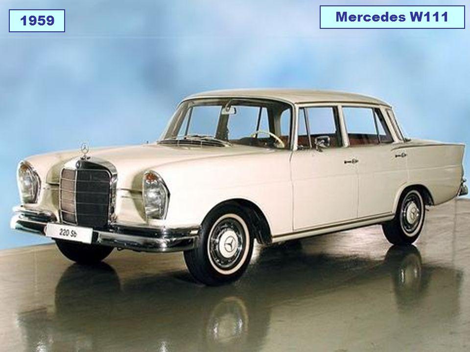 1959 Mercedes W111