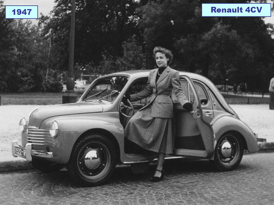 1947 Renault 4CV