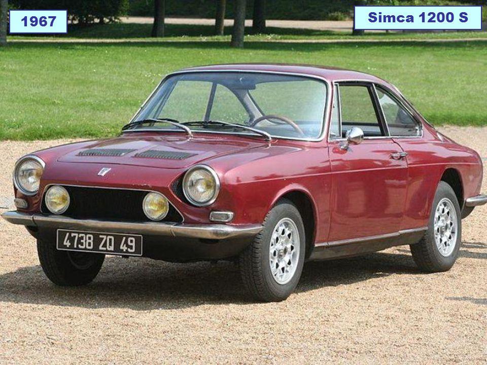 1967 Simca 1200 S