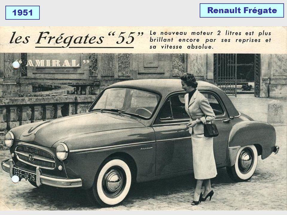1951 Simca Aronde