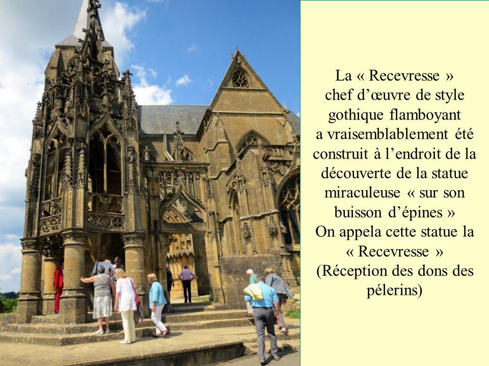 La basilique de Notre-Dame d'Avioth de style gothique édifié au XIVe siècle