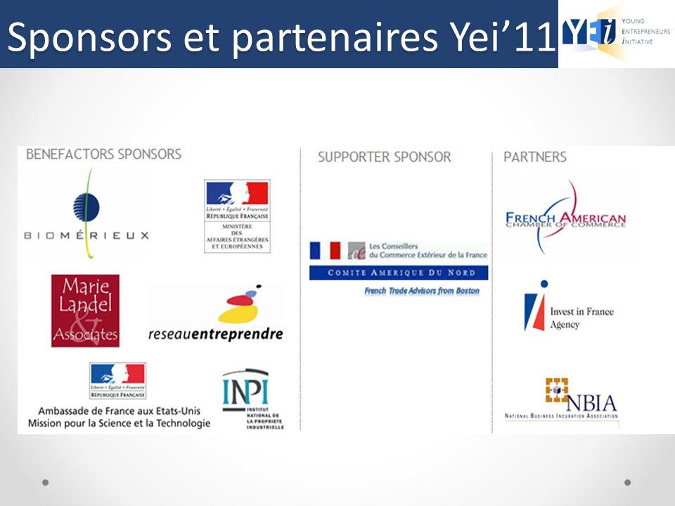 Sponsors et partenaires Yei'11d'YEi