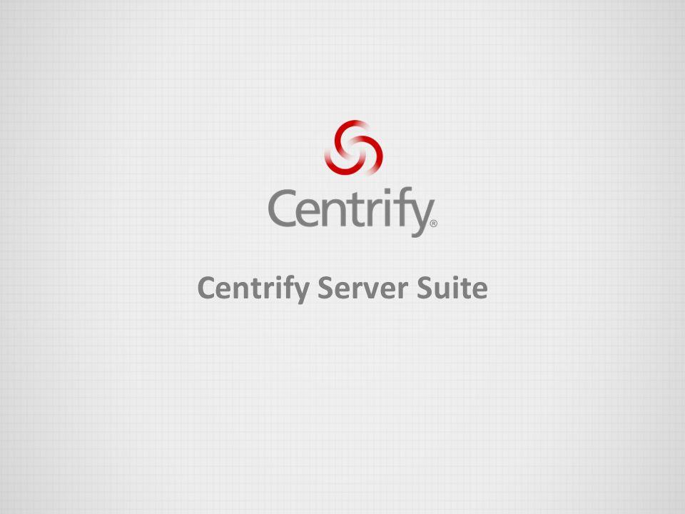 Centrify Server Suite