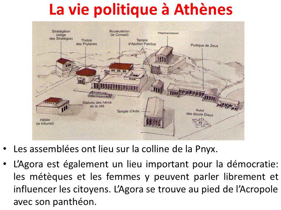 Les débuts de la démocratie athénienne Lorsqu'Athènes vit une crise politique en -594, l'homme de loi Solon annule les dettes des petits paysans et abolit l'esclavage.