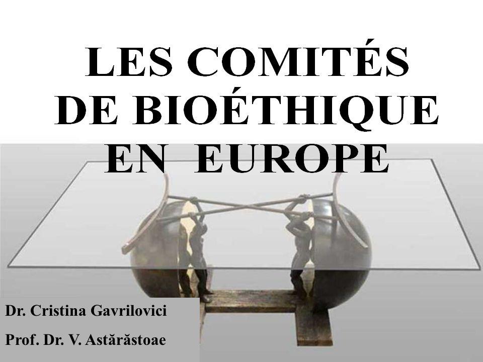 La structure interne des comités d'éthiques: France Les personnes de la structure du comités d'éthique ne peuvent pas être des membres dans plusieurs comites d'éthique Les études qui sont pas autorisé par les comités d'éthique sont considérées illégales  responsabilité pénale (ce n'est pas le cas en Angleterre)