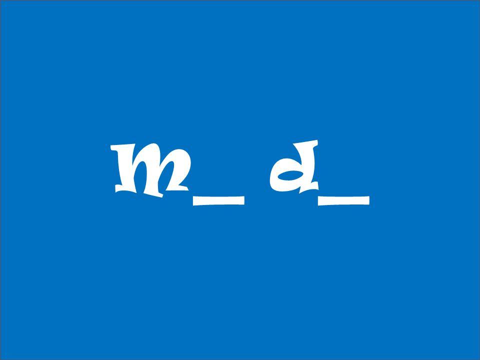 M_ d_