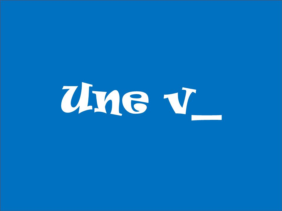 Une v_
