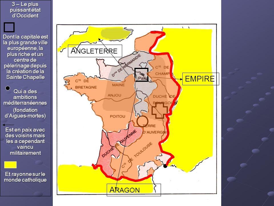 A NGLETERRE EMPIRE 3 – Le plus puissant état d'Occident Dont la capitale est la plus grande ville européenne, la plus riche et un centre de pèlerinage