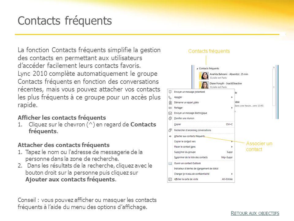 Carte de visite La carte de visite est un outil qui permet de consulter le profil et les informations sur l'organisation d'une personne.