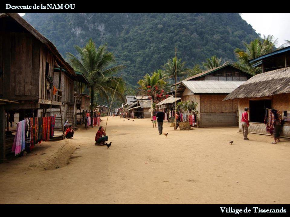 Descente de la NAM OU Centrale Electrique Village de Tisserands