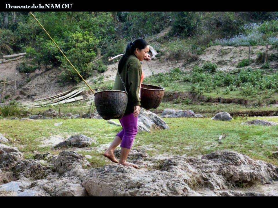 Descente de la NAM OU Nongkhio