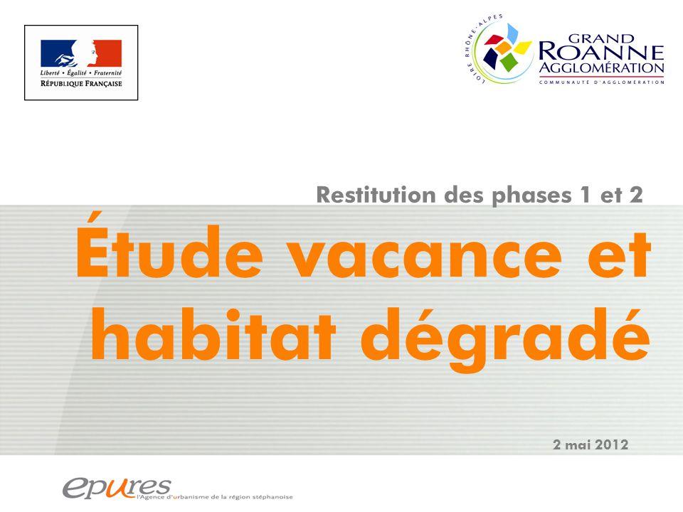 vacance Source : FILOCOM 2007, MEEDDM d'après DGFIP ; CD-ROM de l'habitat privé Anah/CGDD/DGALN » – traitement Epures.