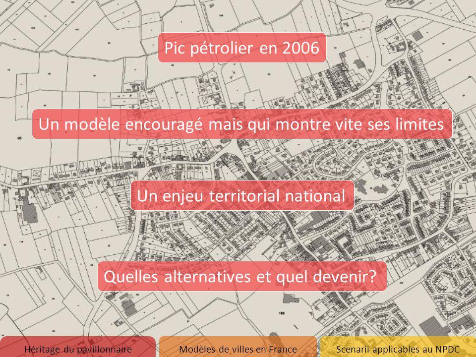 Réflexions sur la ville de demain Héritage du pavillonnaire 1.Naissance d'un modèle 2.Etat des lieux du pavillonnaire en France 3.