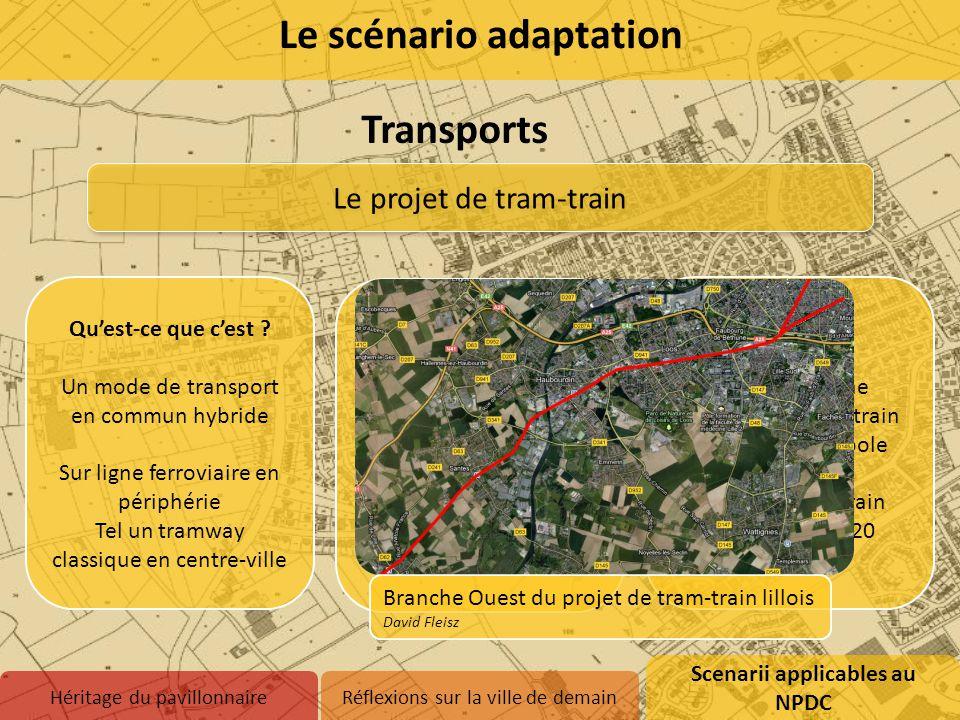 Transports Le projet de tram-train Qu'est-ce que c'est ? Un mode de transport en commun hybride Sur ligne ferroviaire en périphérie Tel un tramway cla
