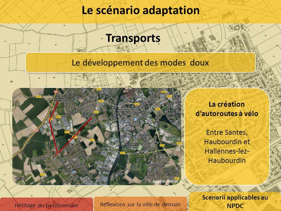 Transformation de la gare de Santes en pôle d'échange multimodal Passage du tram-train au vélo facilité : Parking à vélo Borne de vélo en libre servic