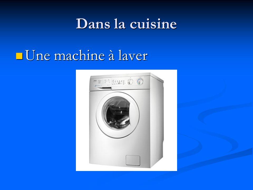Dans la cuisine Un appareil Un appareil