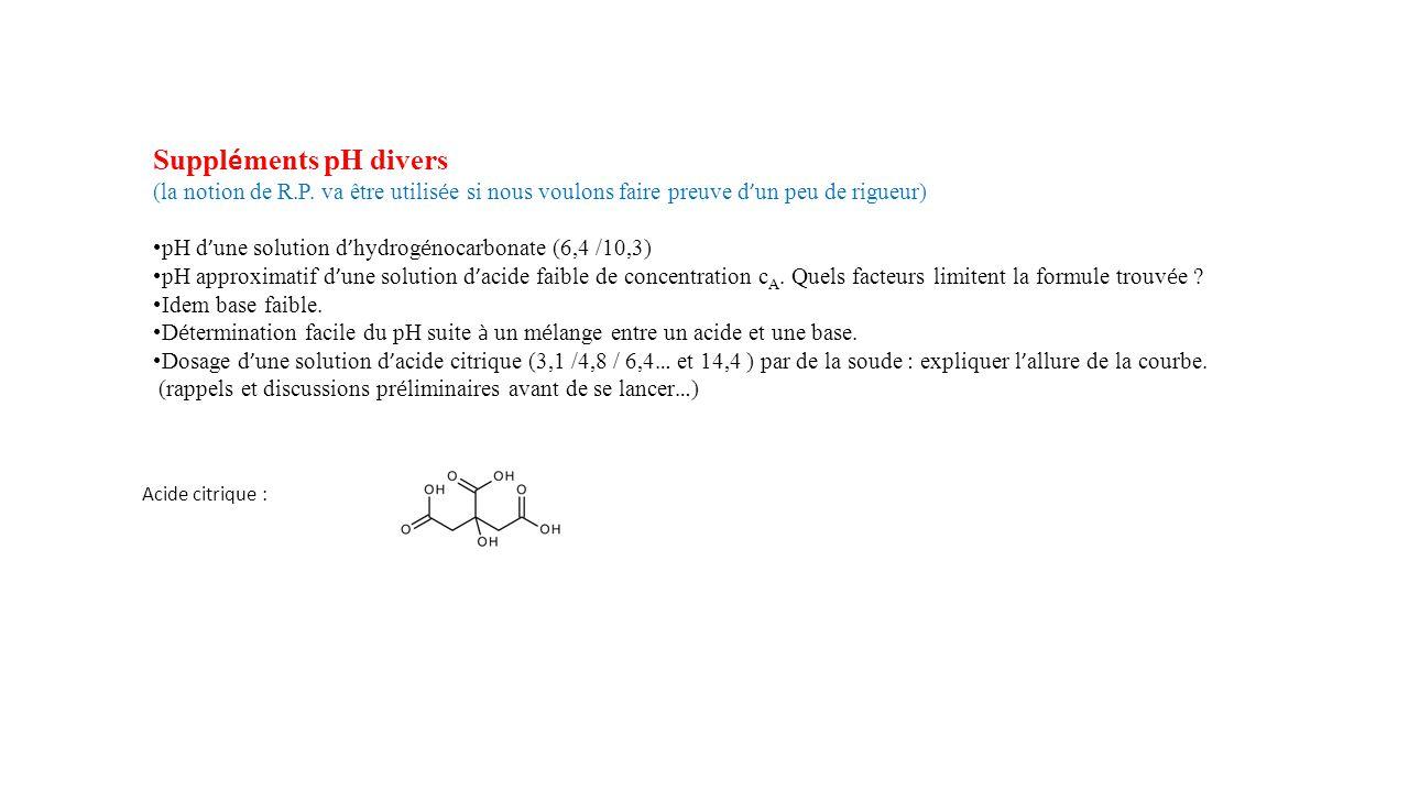 Suppl é ments pH divers (la notion de R.P.