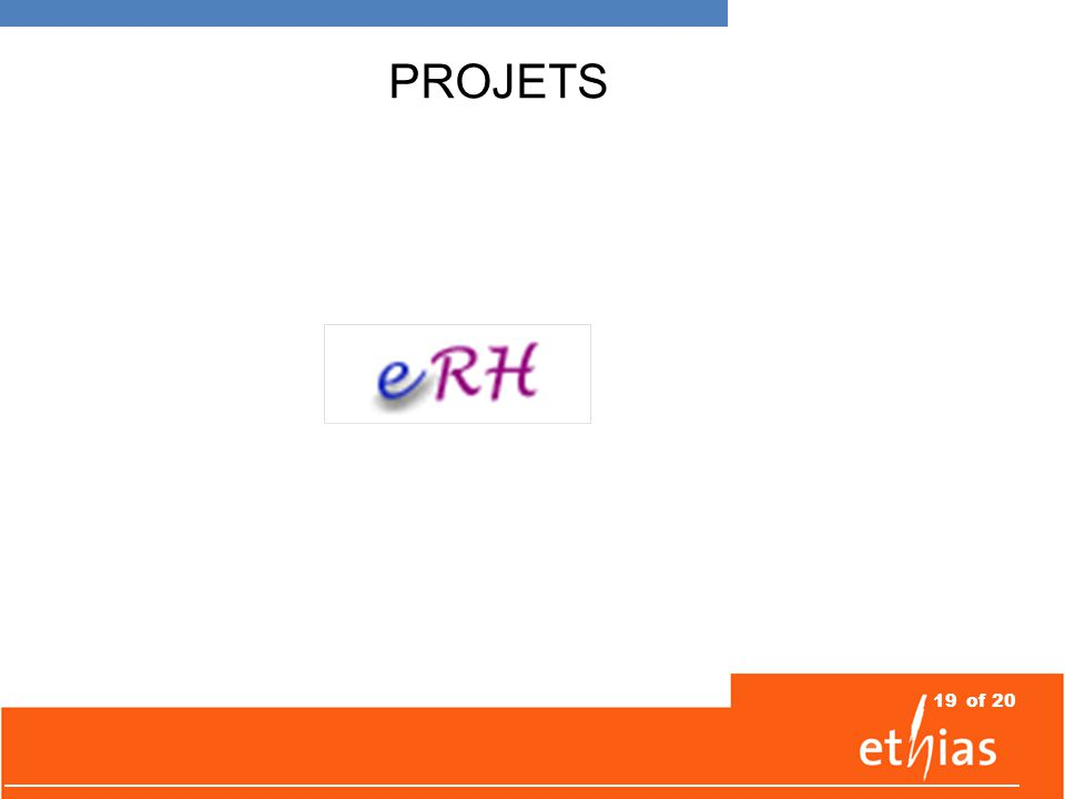 19of 20 PROJETS