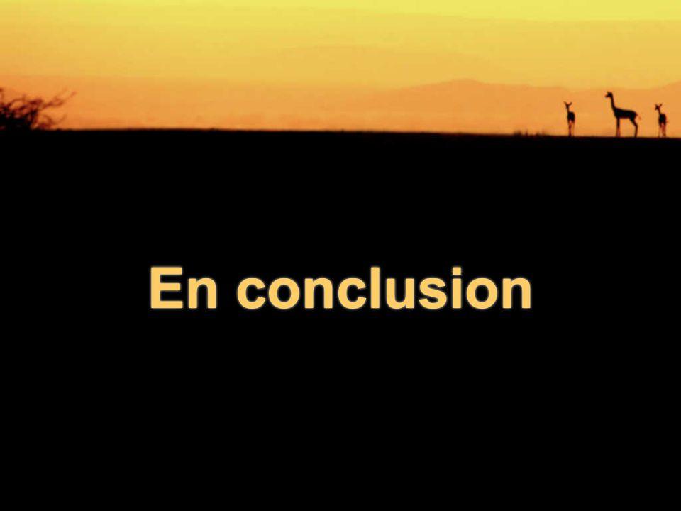 En conclusionEn conclusion