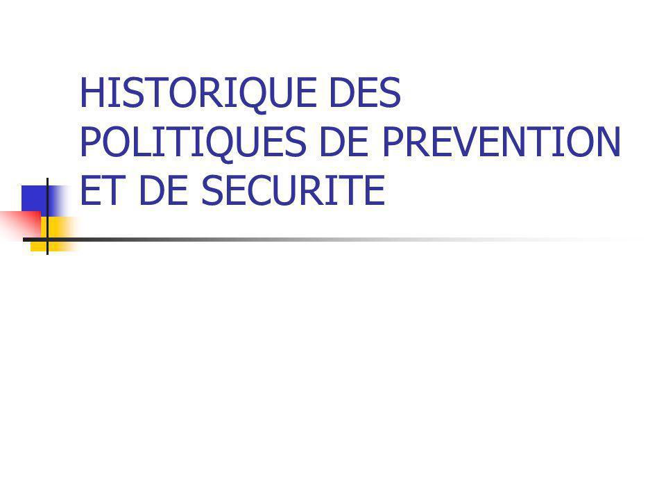 LA POLITIQUE DE SECURITE URBAINE (1992-1993)