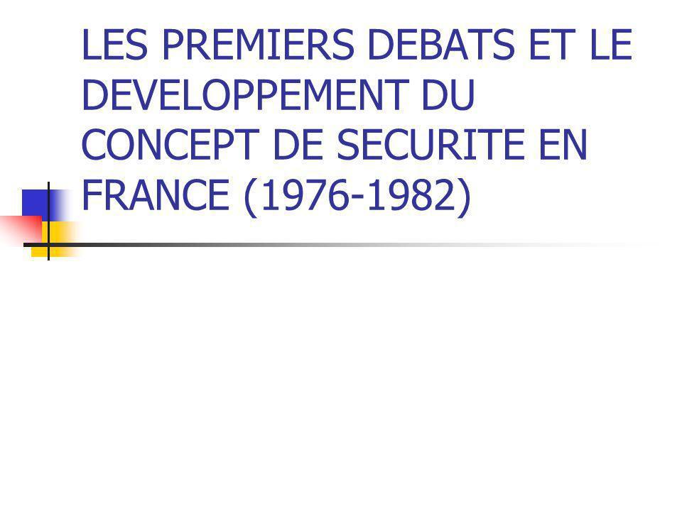 LES PLANS LOCAUX DE SECURITE Institu é s par une circulaire du 13 mai 1992 D é finition : politique contractuelle d é concentr é e.