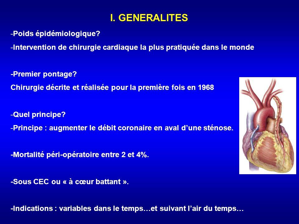 I.GENERALITES -Poids épidémiologique.