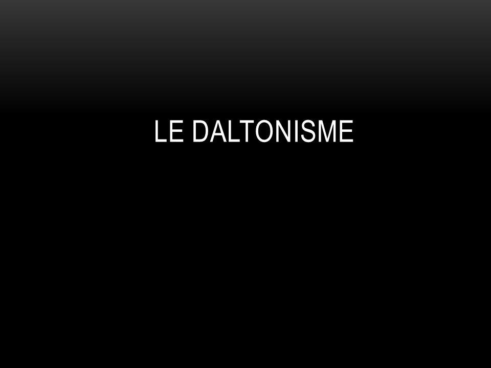 LE DALTONISME