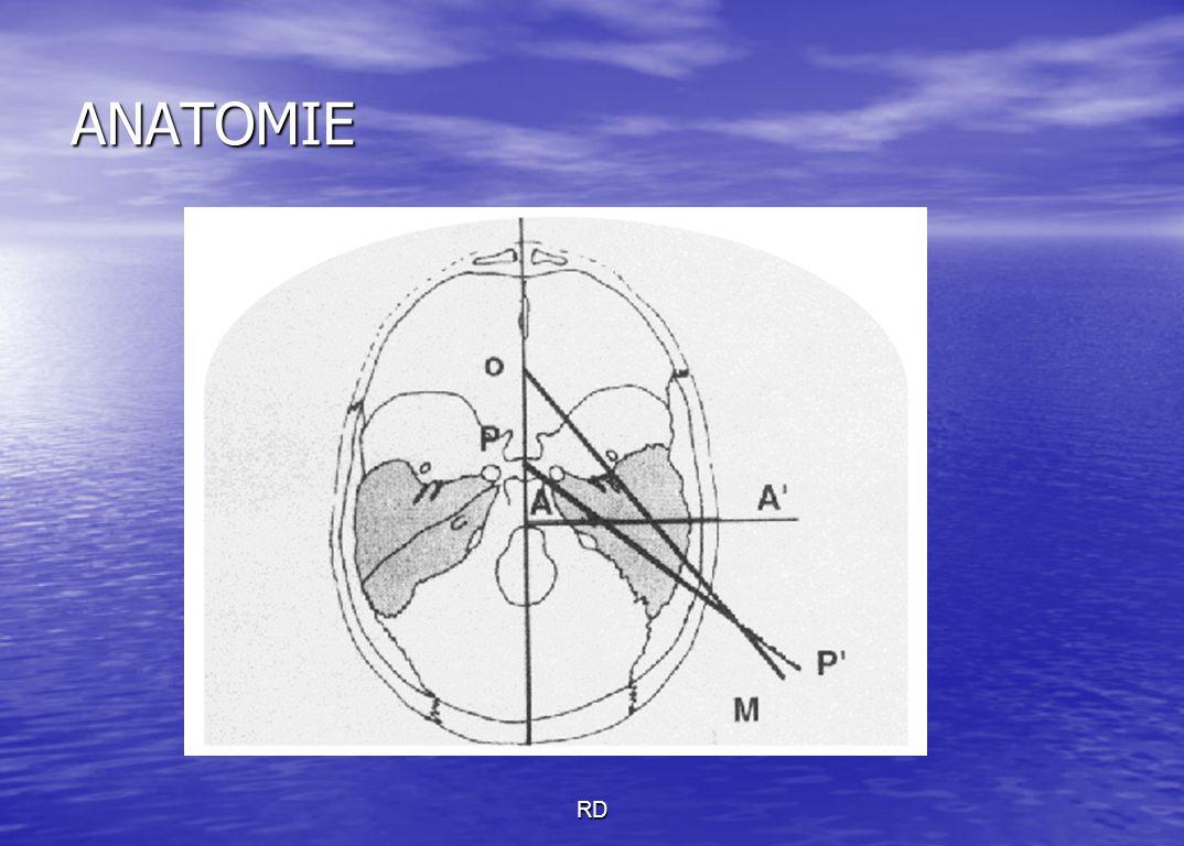 La trompe d'Eustache (TE) est formé de 2 cônes inversés La trompe d'Eustache (TE) est formé de 2 cônes inversés reliés par leur sommet appelé Isthme reliés par leur sommet appelé Isthme L'isthme mesure 2 mm de long sur 1 mm de large RD