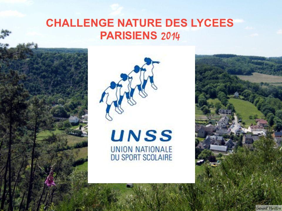 CHALLENGE NATURE DES LYCEES PARISIENS 2014