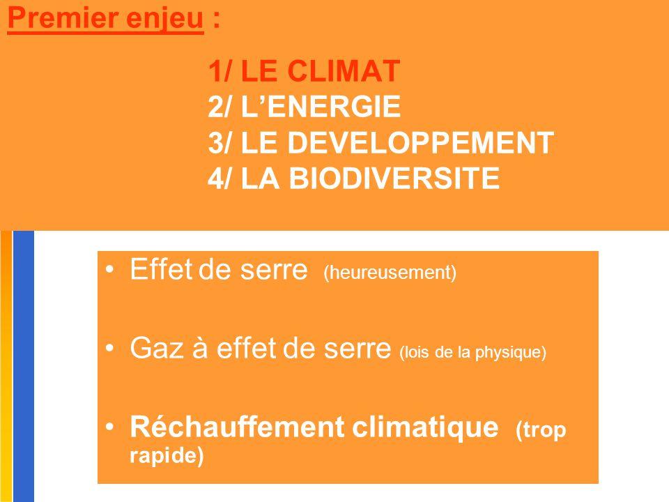 Gilbert ISOARD - 060-7676-309 - gilbert. isoard @ numericable. fr www.cheeddmed.org Premier enjeu : 1/ LE CLIMAT 2/ L'ENERGIE 3/ LE DEVELOPPEMENT 4/ L