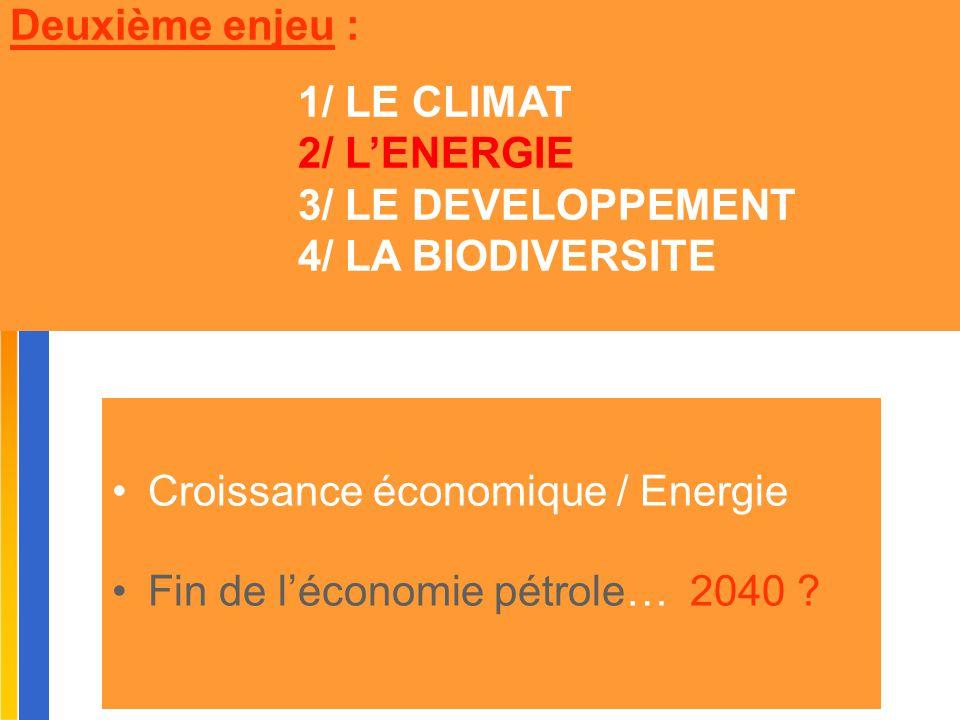 Gilbert ISOARD - 060-7676-309 - gilbert. isoard @ numericable. fr www.cheeddmed.org Croissance économique / Energie Fin de l'économie pétrole… 2040 ?