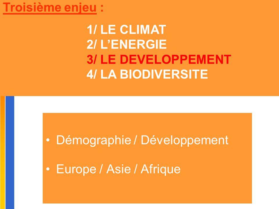 Gilbert ISOARD - 060-7676-309 - gilbert. isoard @ numericable. fr www.cheeddmed.org Démographie / Développement Europe / Asie / Afrique Troisième enje