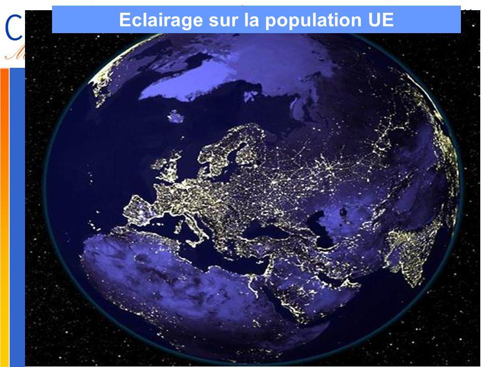 Gilbert ISOARD - 060-7676-309 - gilbert. isoard @ numericable. fr www.cheeddmed.org Eclairage sur la population UE