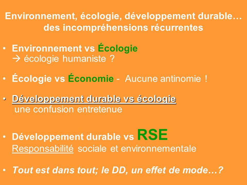Gilbert ISOARD - 060-7676-309 - gilbert. isoard @ numericable. fr www.cheeddmed.org Environnement, écologie, développement durable… des incompréhensio