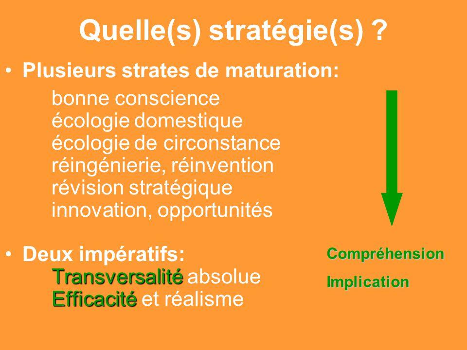 Gilbert ISOARD - 060-7676-309 - gilbert. isoard @ numericable. fr www.cheeddmed.org Quelle(s) stratégie(s) ? Plusieurs strates de maturation: bonne co