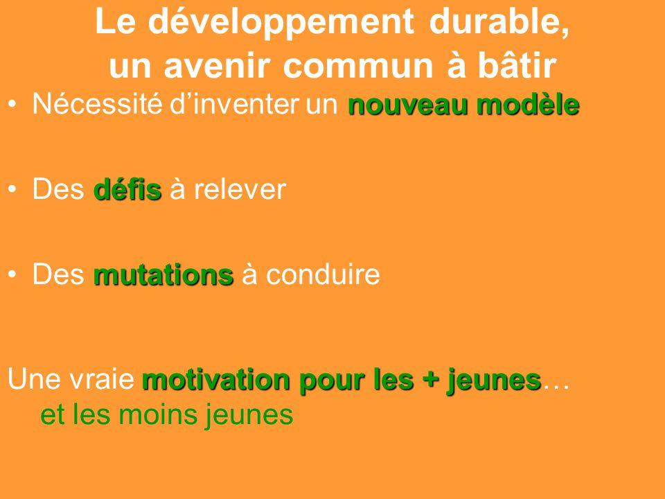 Gilbert ISOARD - 060-7676-309 - gilbert. isoard @ numericable. fr www.cheeddmed.org Le développement durable, un avenir commun à bâtir nouveau modèleN