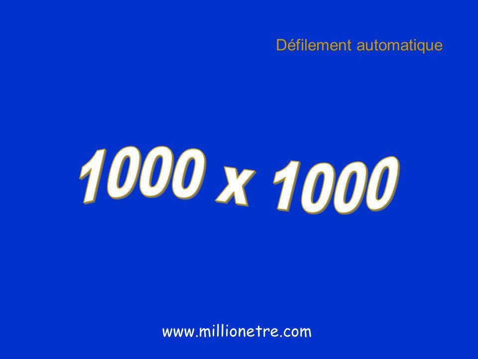 Défilement automatique www.millionetre.com