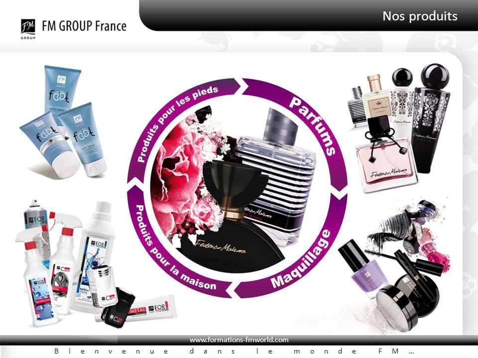 www.formations-fmworld.com Bienvenue dans le monde FM… Nos produits