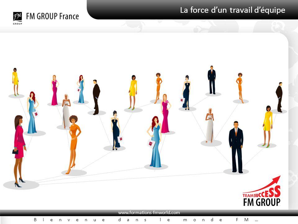 www.formations-fmworld.com Bienvenue dans le monde FM… La force d'un travail d'équipe
