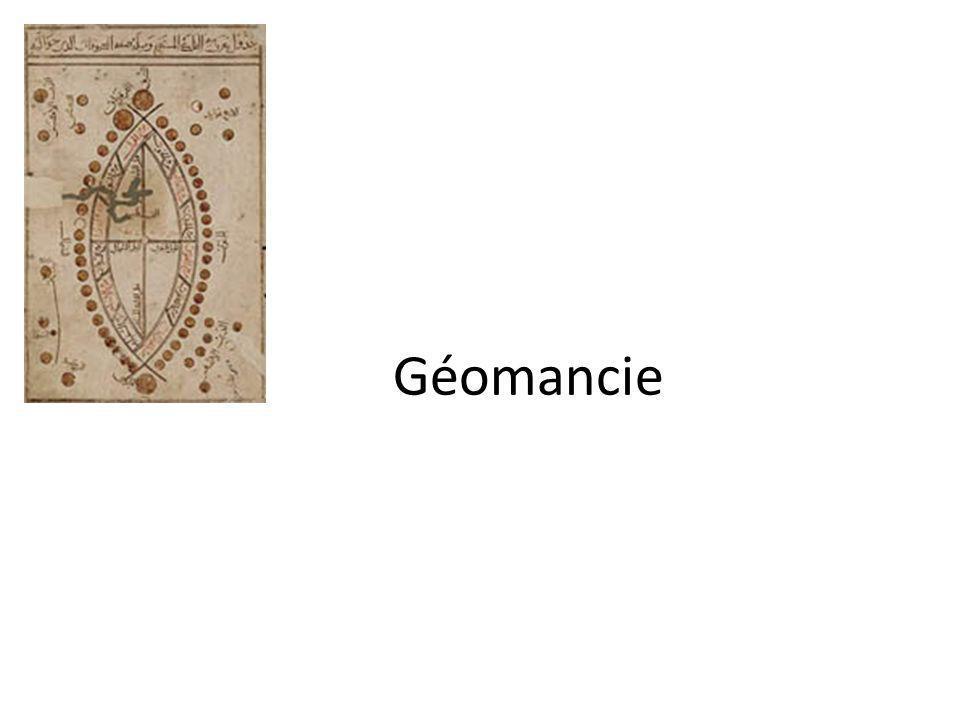 Géomancie