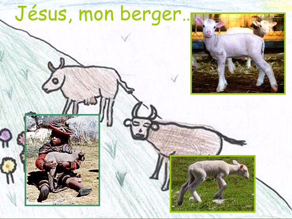 Jésus, mon berger…