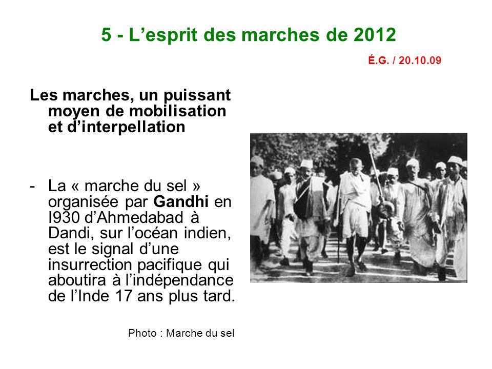 5 - L'esprit des marches de 2012 É.G.