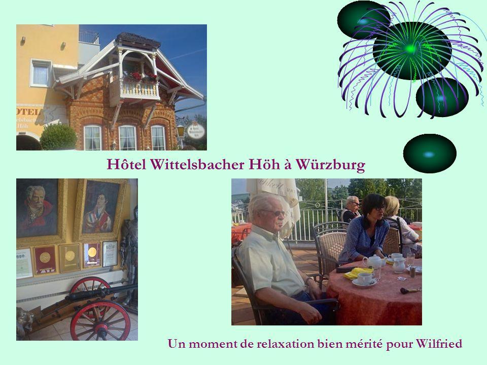 Hôtel Wittelsbacher Höh à Würzburg Un moment de relaxation bien mérité pour Wilfried
