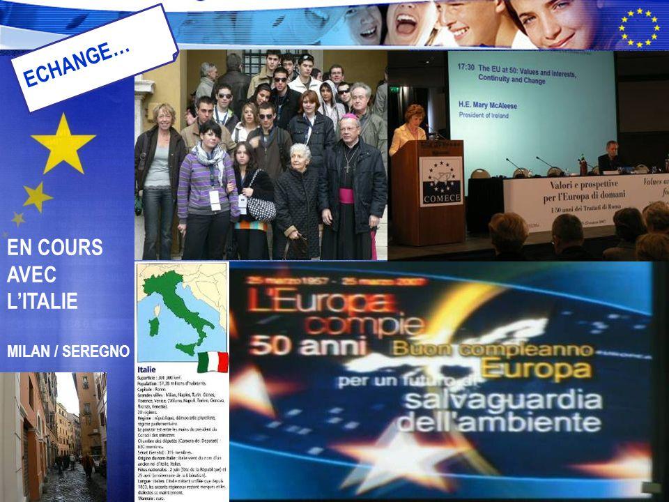 EN COURS AVEC L'ITALIE MILAN / SEREGNO ECHANGE…