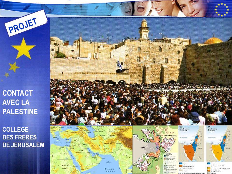 CONTACT AVEC LA PALESTINE COLLEGE DES FRERES DE JERUSALEM PROJET