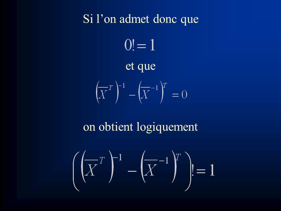 En utilisant les données précédentes: On obtient ainsi une expression élégante, claire, simple et compréhensible pour tout le monde : Il est donc évident que cette équation est bien plus compréhensible que