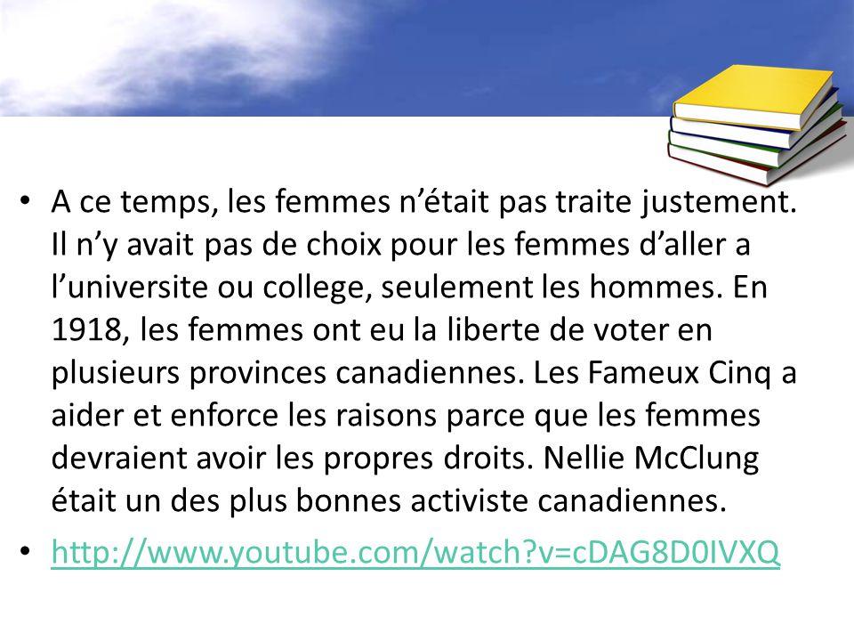 Les Quebecois était un « culture different et independant ».
