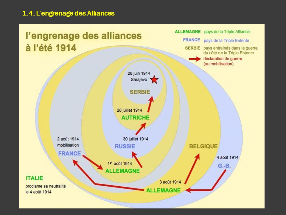 1.4. L'engrenage des Alliances