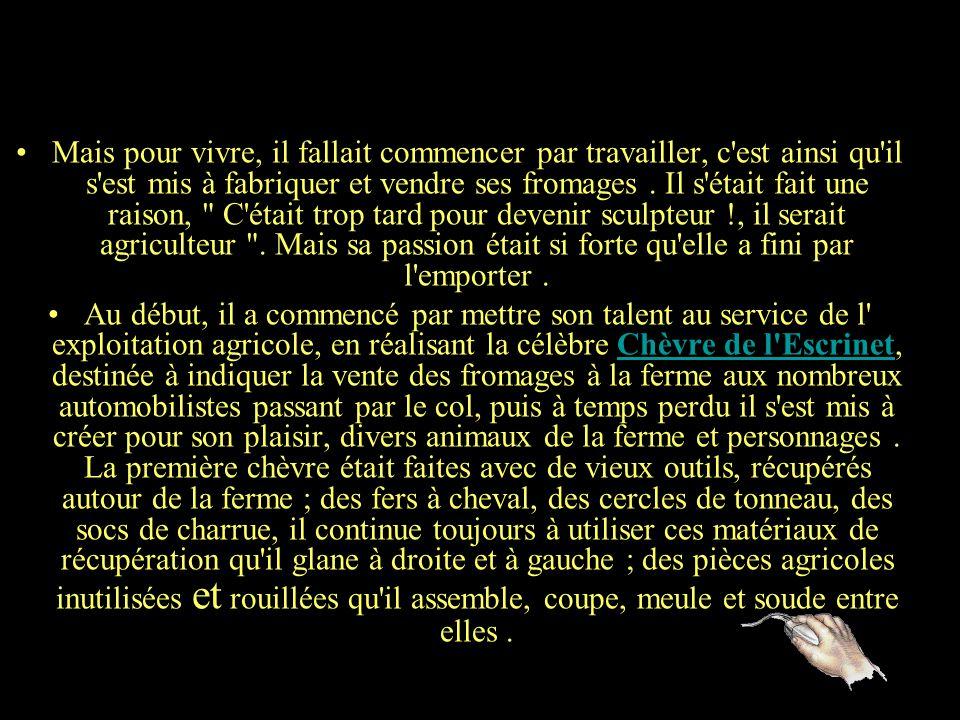 Pierre Louis Chipon est né en 1958, il a fait ses études dans un lycée agricole de l'Ain, puis obtenu un BTS d'élevage à la Bergerie Nationale de Ramb